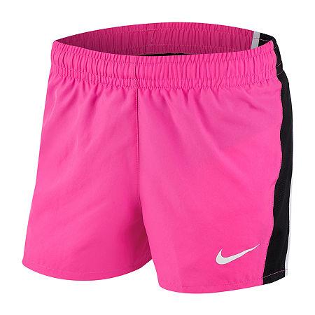 Nike Big Girls Pull-On Short, Large , Pink