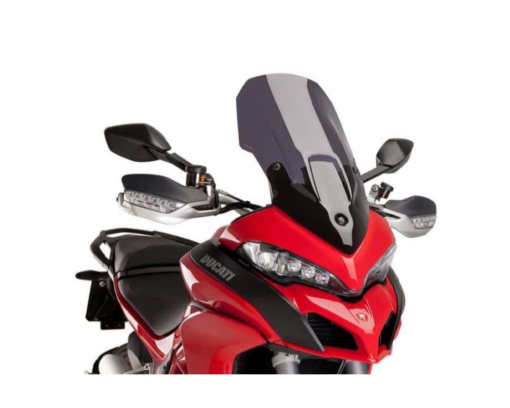 Puig 7623F Touring Windscreen - Dark Smoke Ducati Multistrada 1200 2015