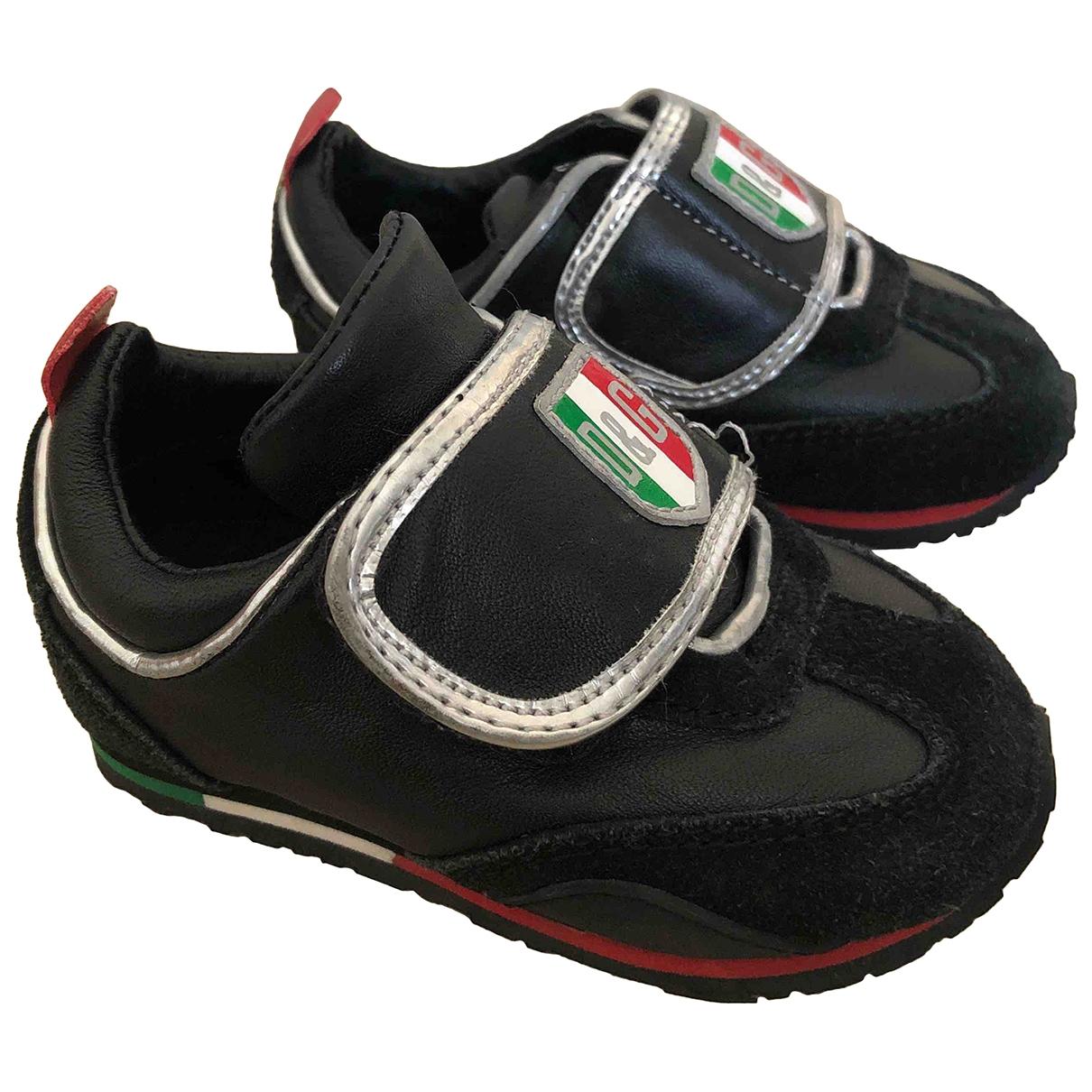 D&g \N Sneakers in  Schwarz Leder