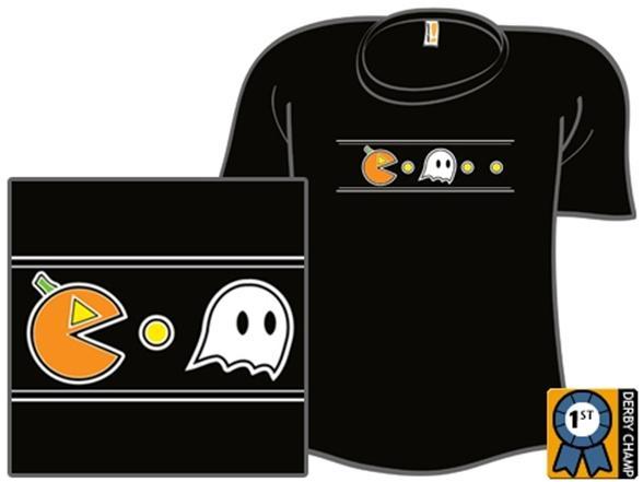 Pumpkin And Ghost T Shirt