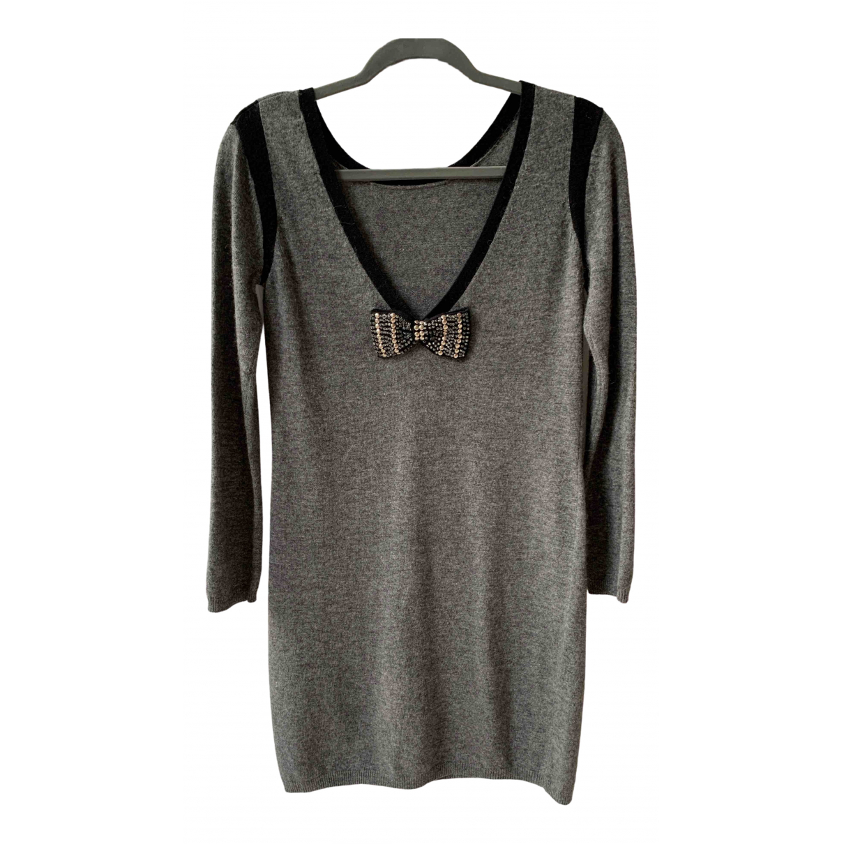 Sandro \N Grey Cashmere dress for Women S International