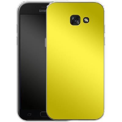 Samsung Galaxy A5 (2017) Silikon Handyhuelle - Test Yellow von caseable Designs