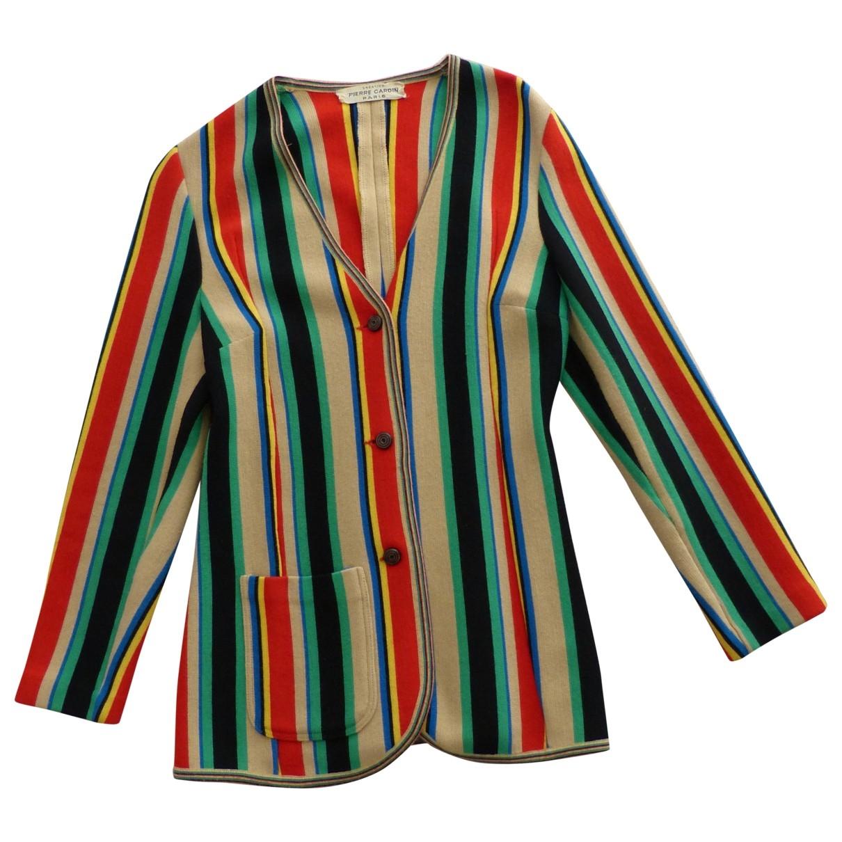 Pierre Cardin \N Multicolour Wool jacket for Women 38 FR