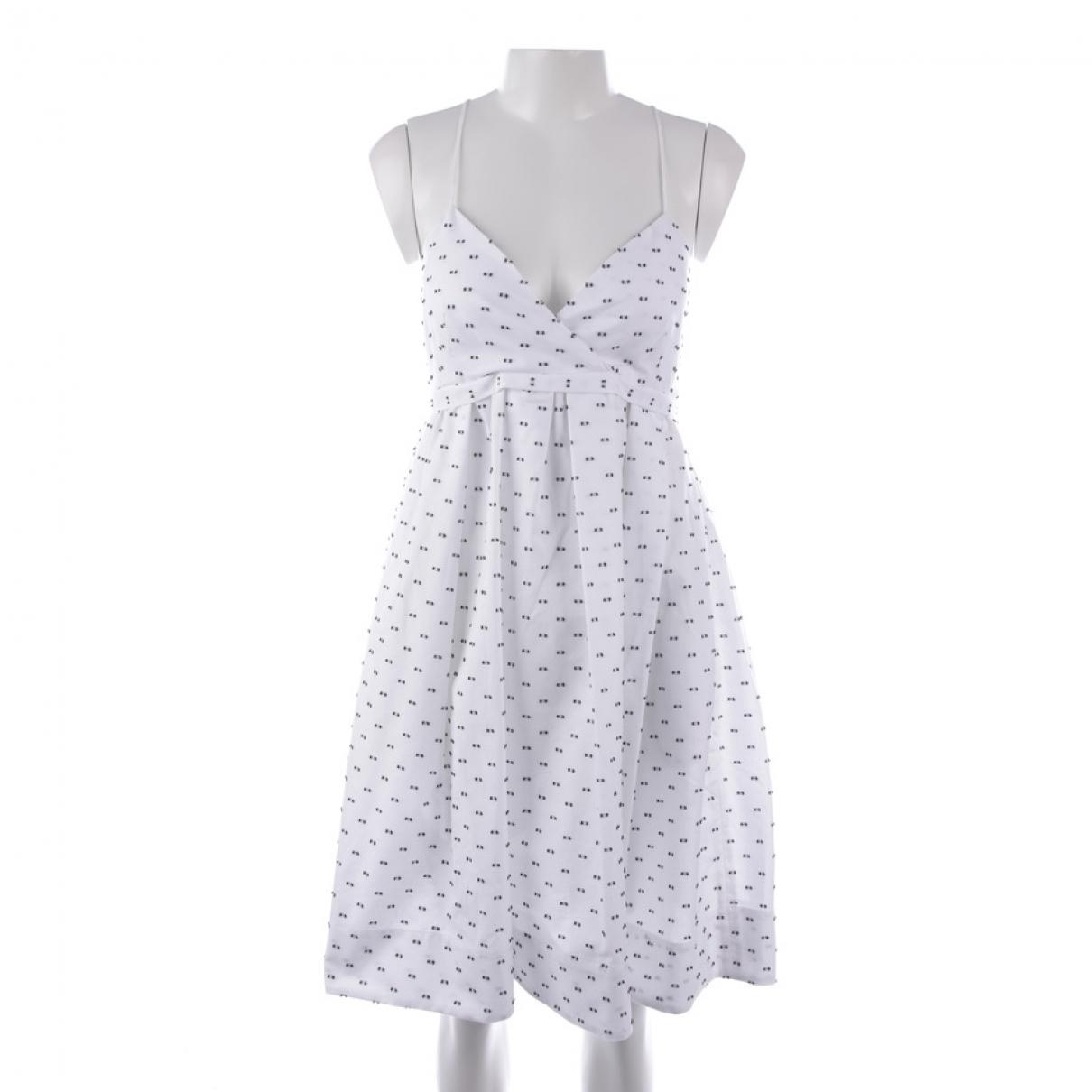 Victoria Beckham - Robe   pour femme en coton - blanc