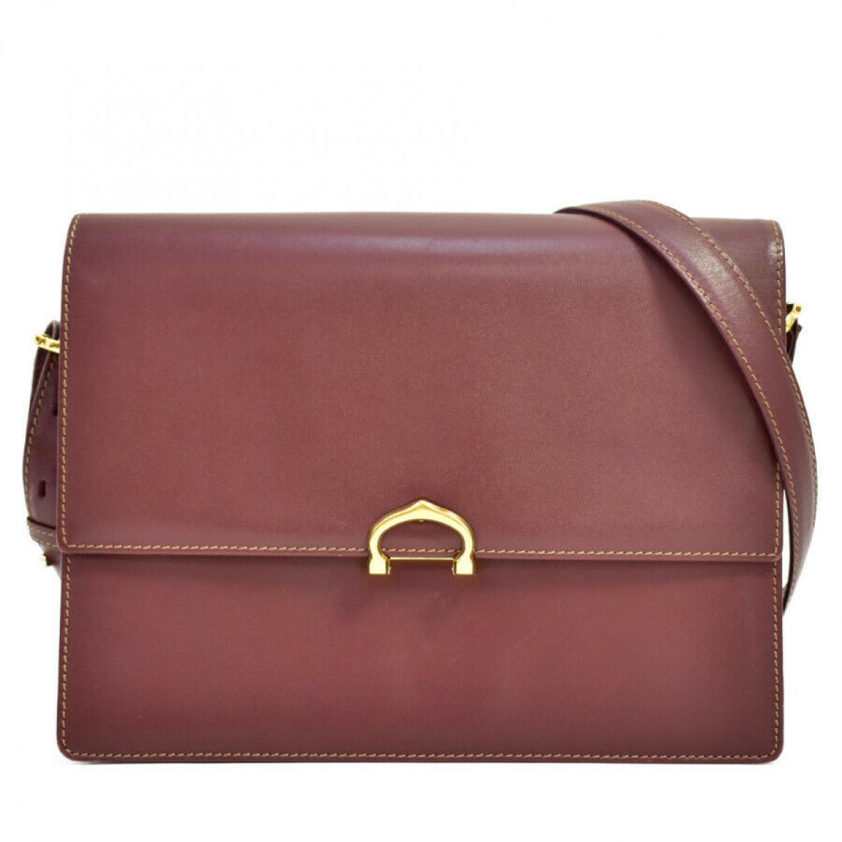 Cartier \N Handtasche in Leder