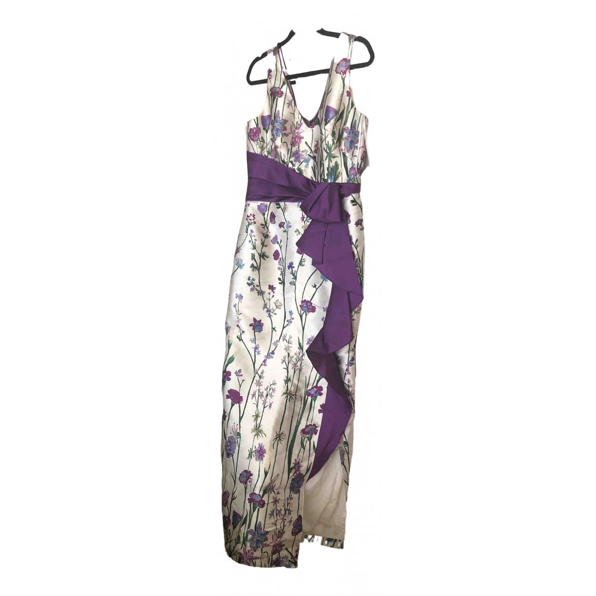Marchesa Notte - Robe   pour femme en soie - violet