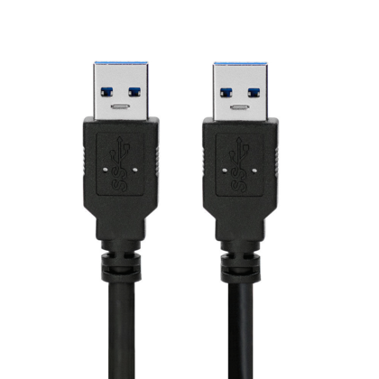 High Quality USB 3.0 A Male to A Male Cable - Black - 3ft - PrimeCables®
