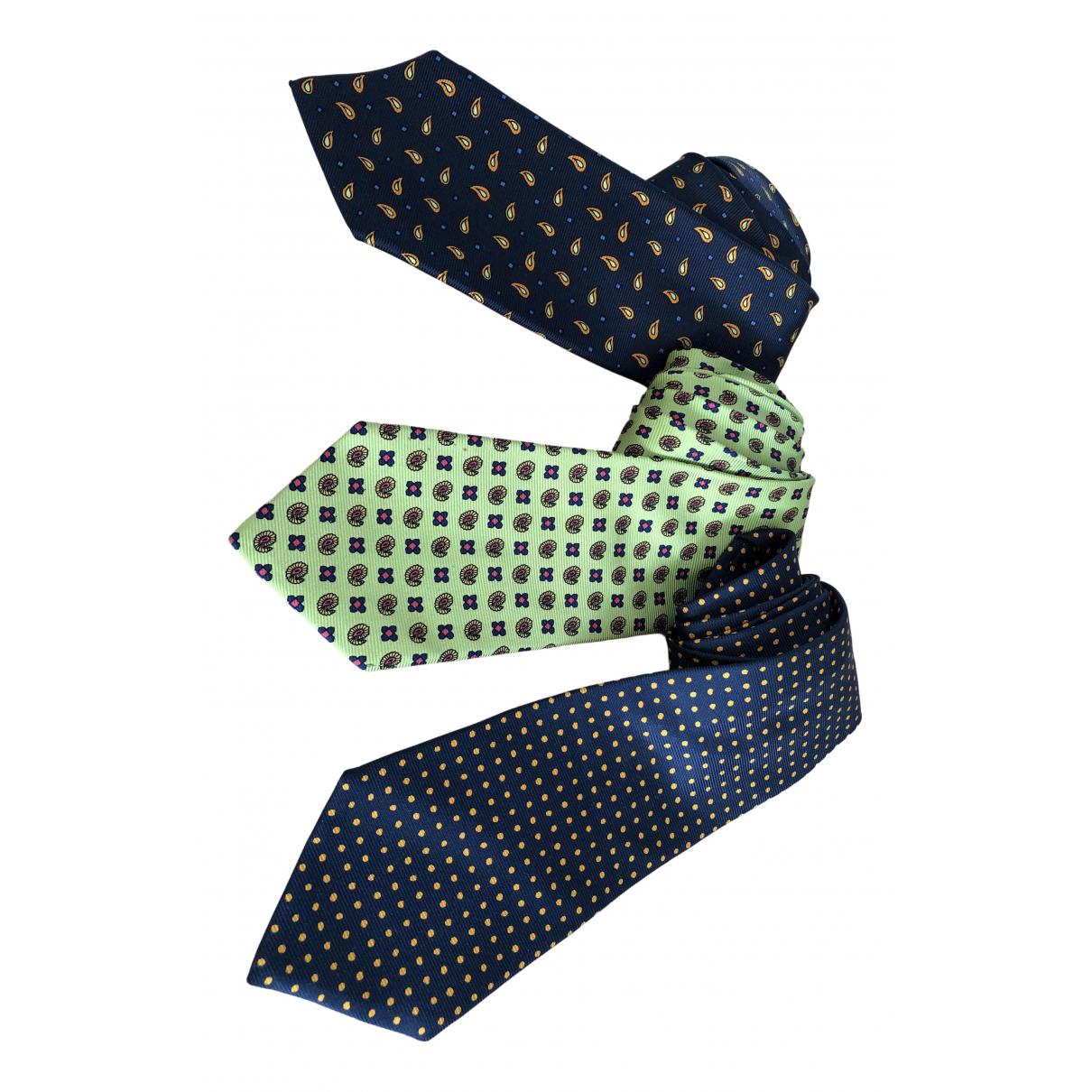 Kiton - Cravates   pour homme en soie - multicolore
