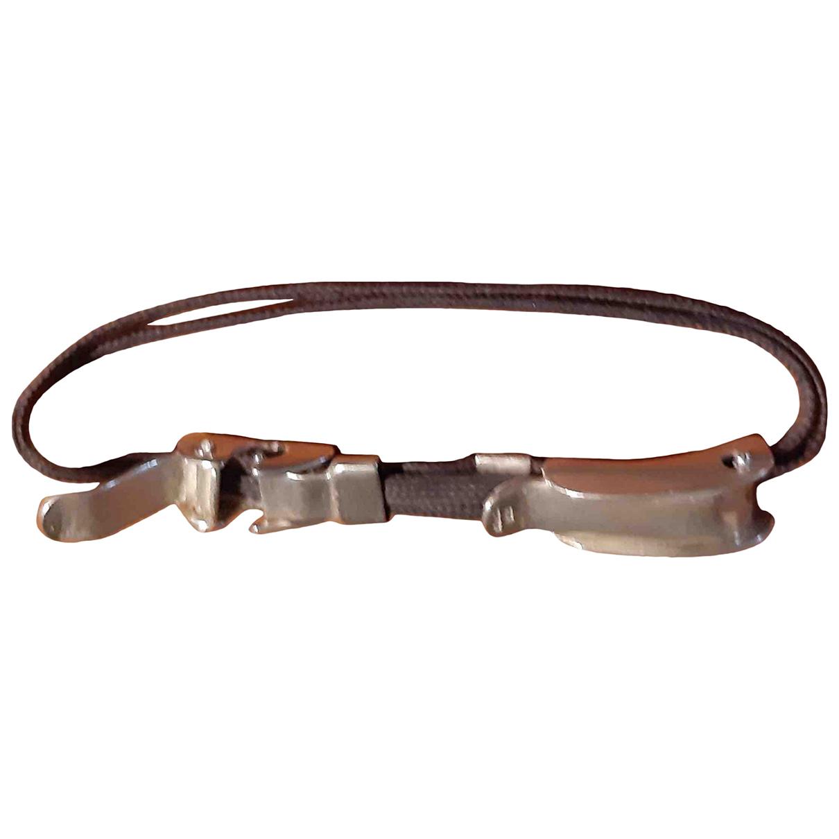 Apriati \N Armband in  Grau Silber
