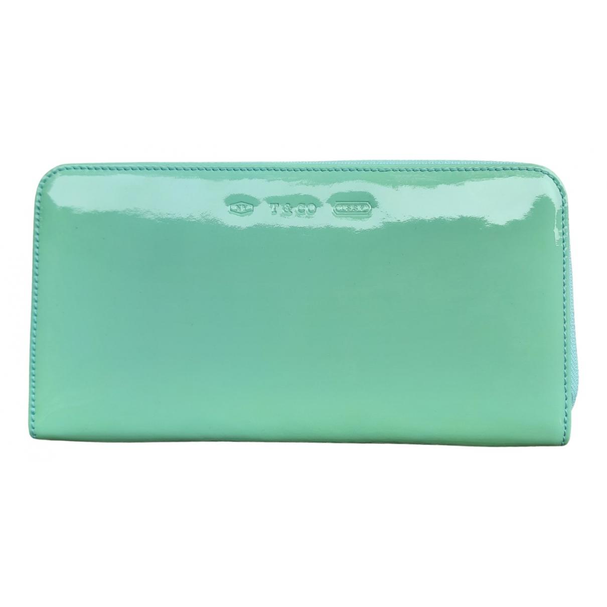 Tiffany & Co - Portefeuille   pour femme en cuir verni