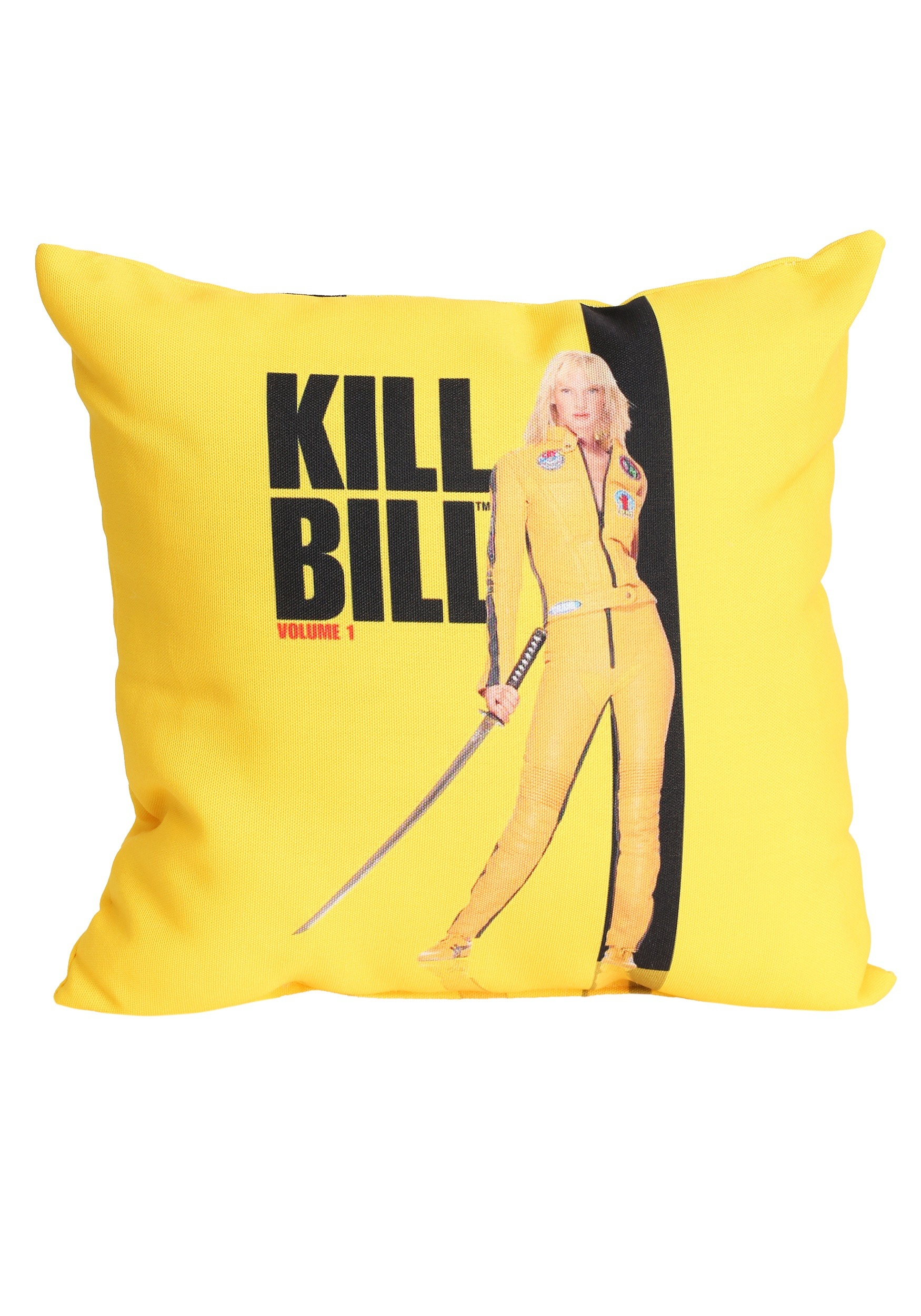 Kill Bill Volume 1 Poster 14 x14 Throw Pillow