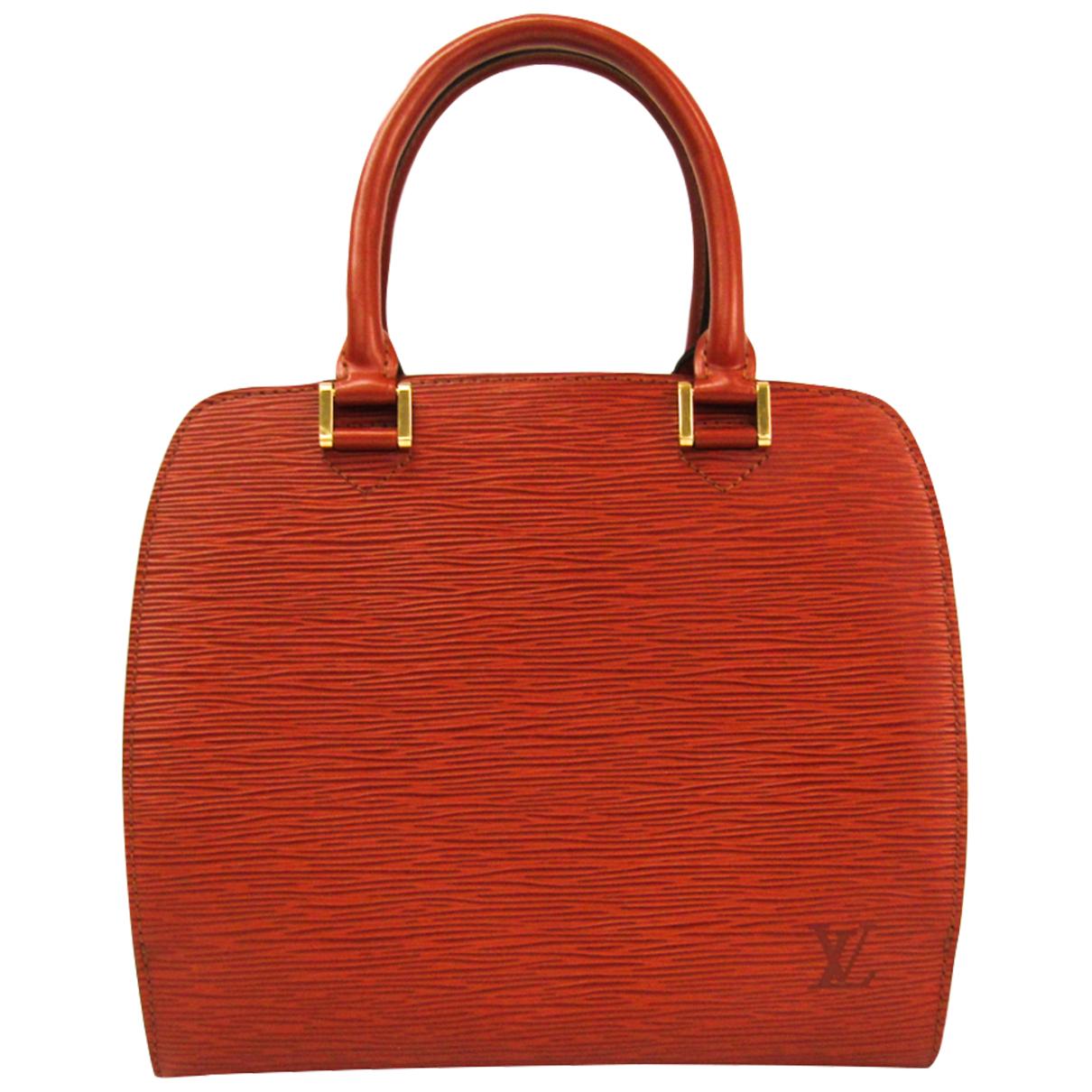Louis Vuitton Pont Neuf Vintage  Brown Leather handbag for Women N