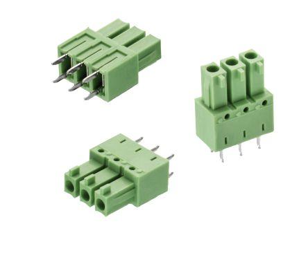 Wurth Elektronik , WR-TBL, 3073, 6 Way, 1 Row, Straight PCB Header (275)
