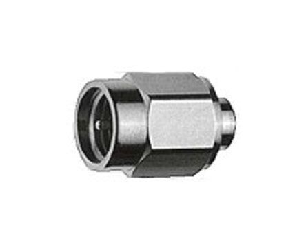 Telegartner Straight 50Ω Cable Mount Coaxial Connector, Plug, Gold, Solder Termination, UT141