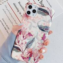 1pc Flower Pattern iPhone Case