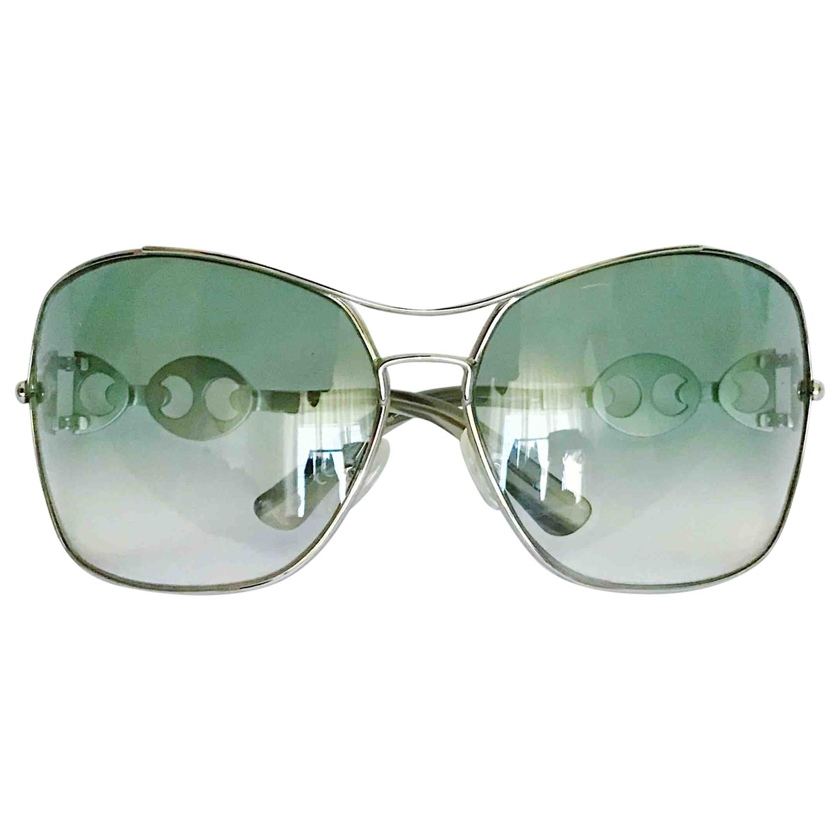 Gucci \N Turquoise Metal Sunglasses for Women \N