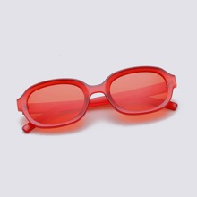 Retro Ovale Sonnenbrille