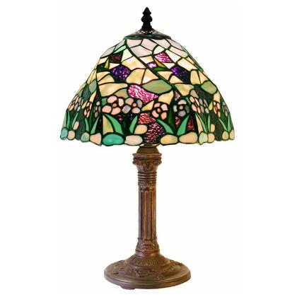 233715 Tiffany-style Lake Table Lamp  CSA Listed  ETL Listed  UL Listed in Multi