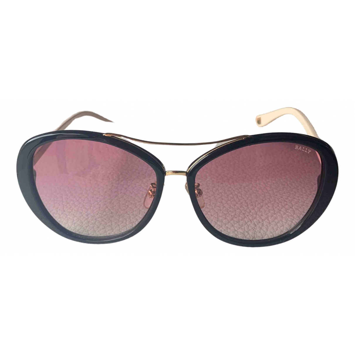 Bally \N Pink Metal Sunglasses for Women \N