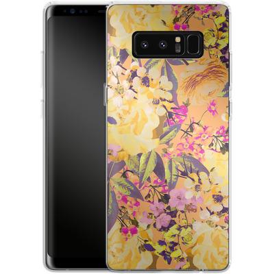 Samsung Galaxy Note 8 Silikon Handyhuelle - Symmetric Spring von Zala Farah