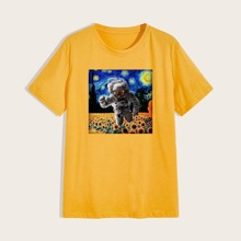 Guys Astronaut Graphic Tee