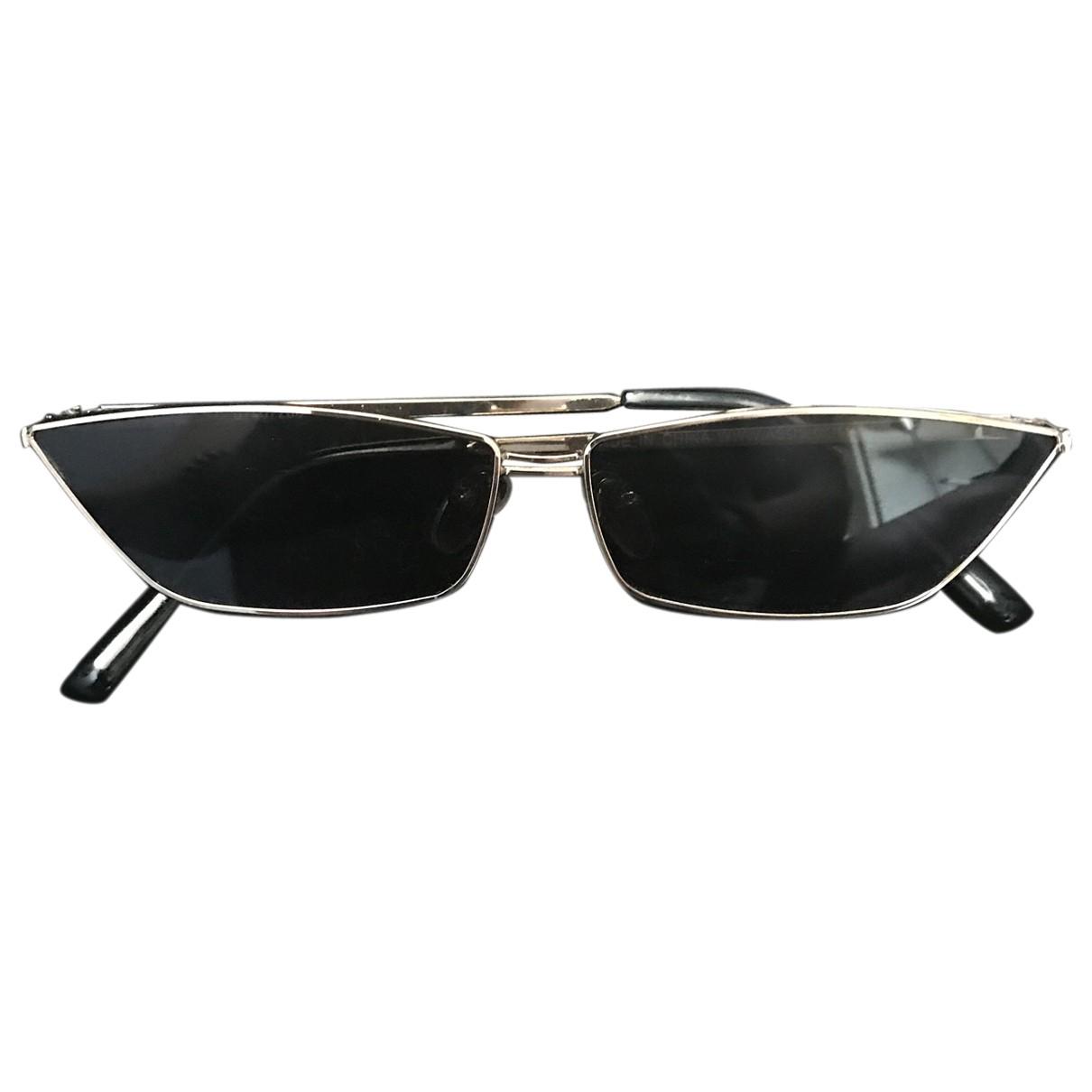 Asos \N Silver Metal Sunglasses for Men \N