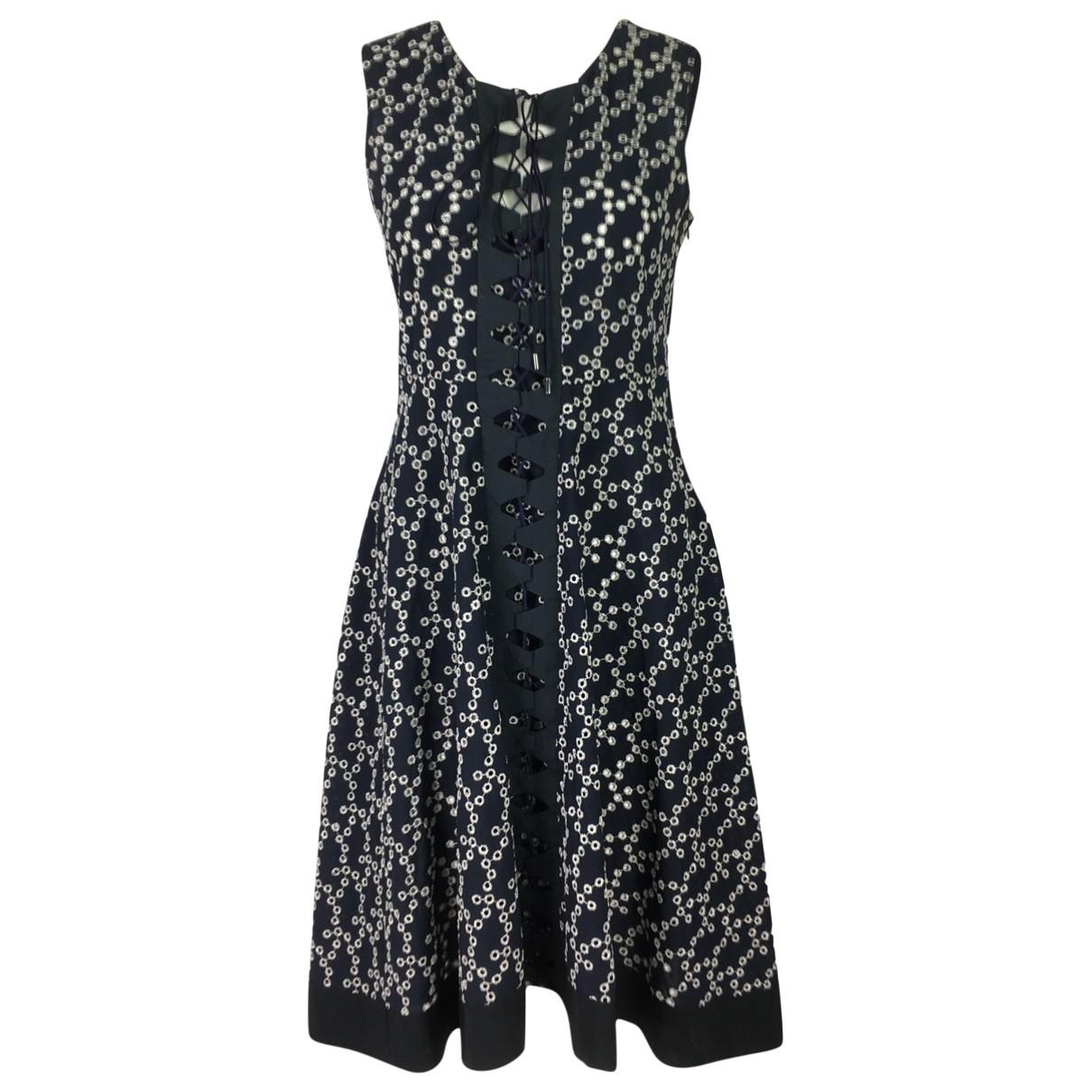 Dorothee Schumacher \N Kleid in  Blau Baumwolle