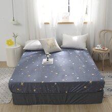 Bettuch mit Planet Muster