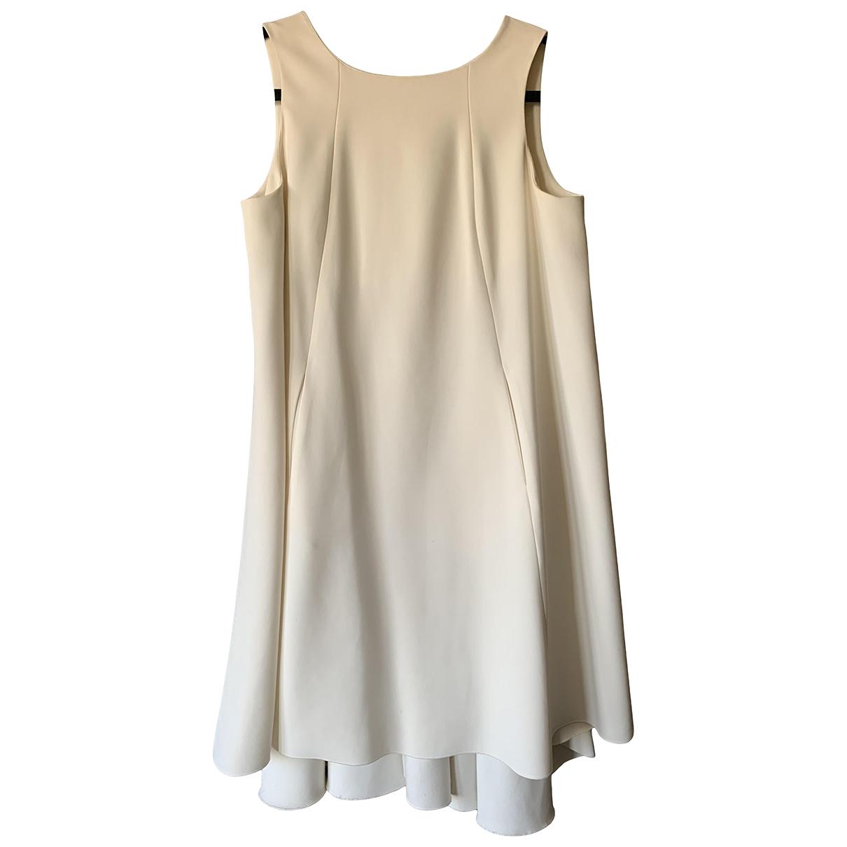 La Mania \N Kleid in  Ecru Polyester