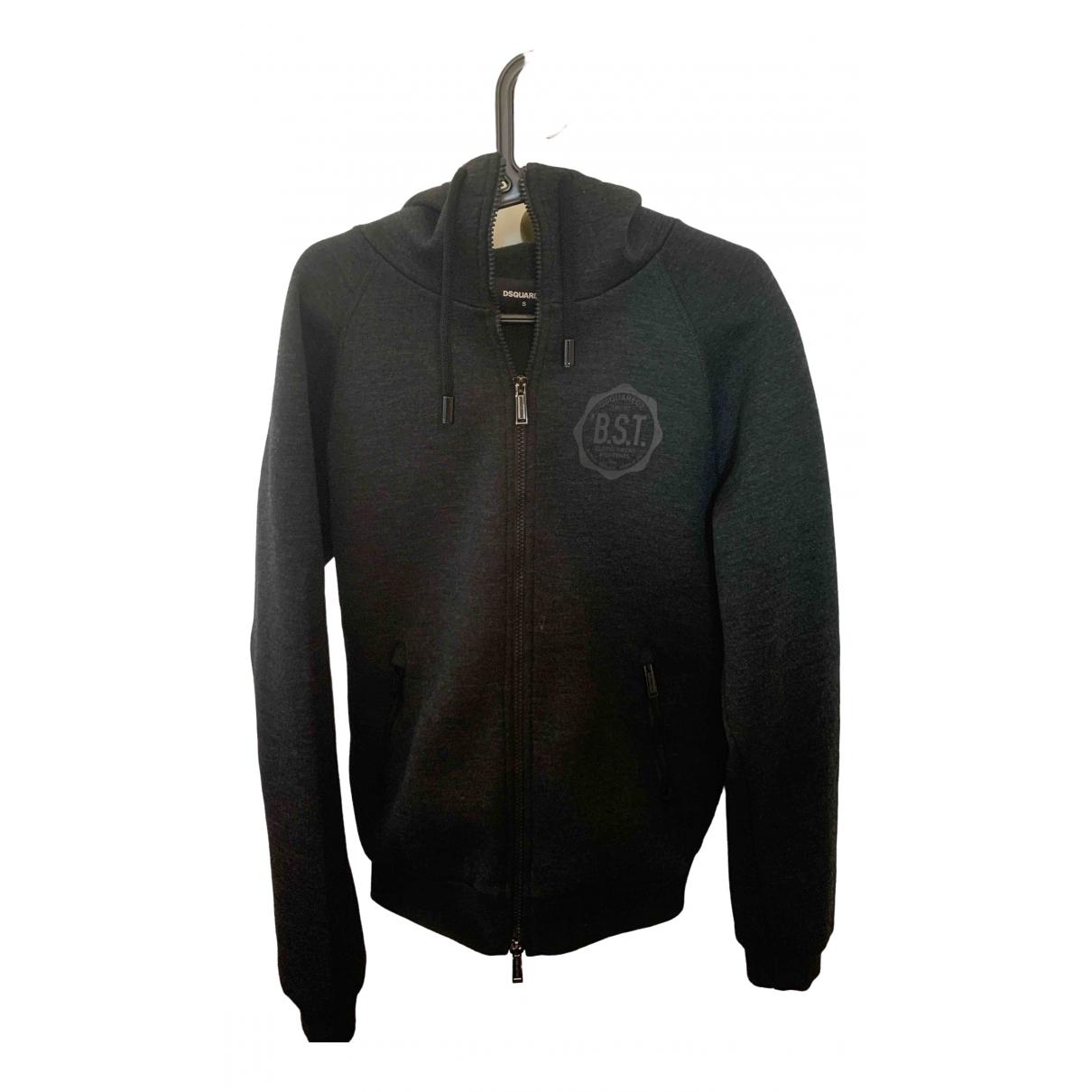 Dsquared2 \N Jacke in  Schwarz Wolle