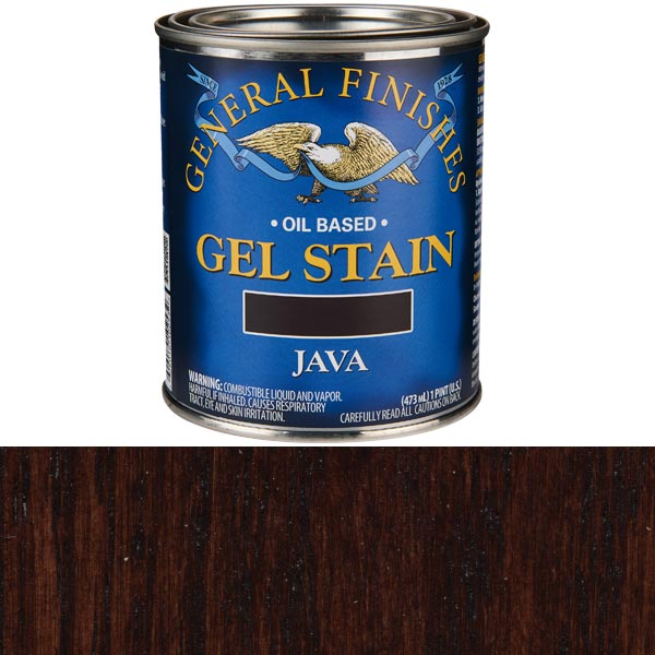 Java Gel Stain Solvent Based Pint