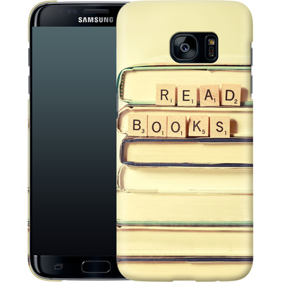 Samsung Galaxy S7 Edge Smartphone Huelle - Read Books von Joy StClaire