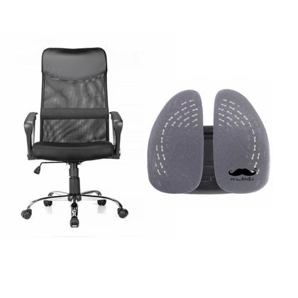 Combo ergonomique de chaise et support de dossier