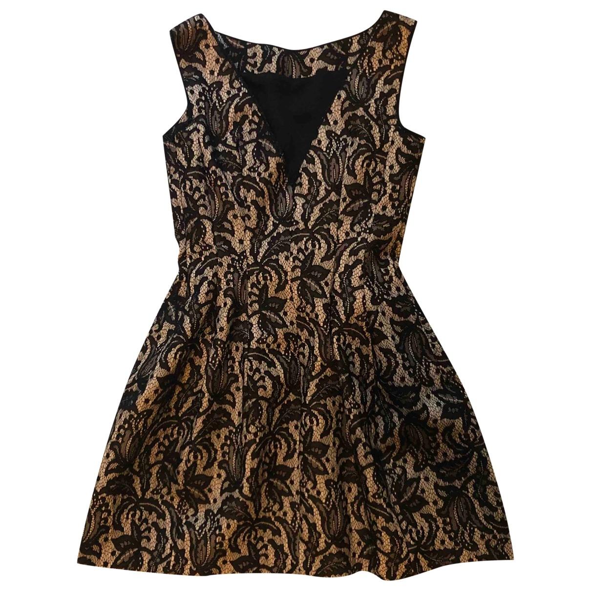 Zara \N Kleid in  Beige Polyester