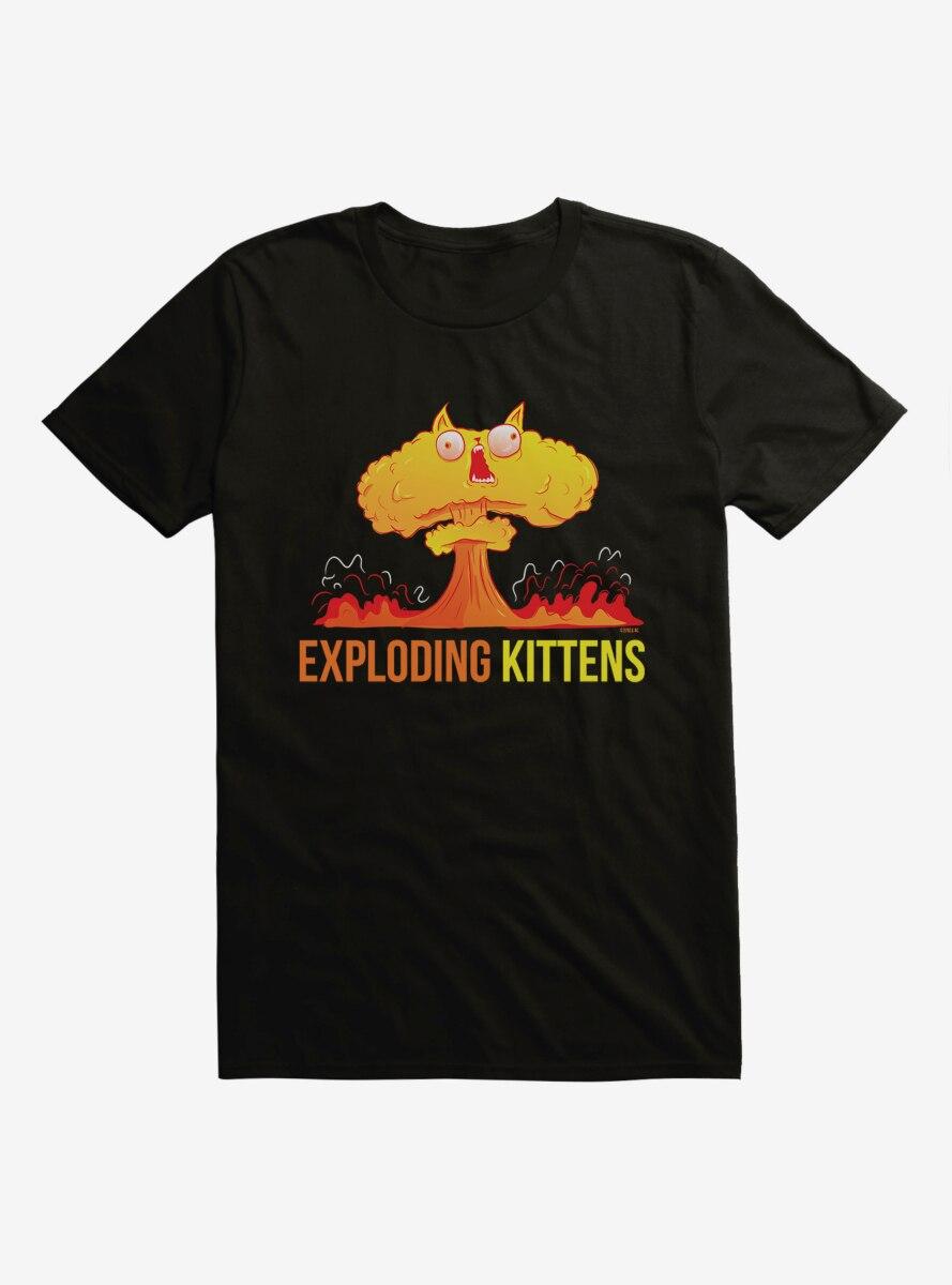 Exploding Kittens Logo T-Shirt