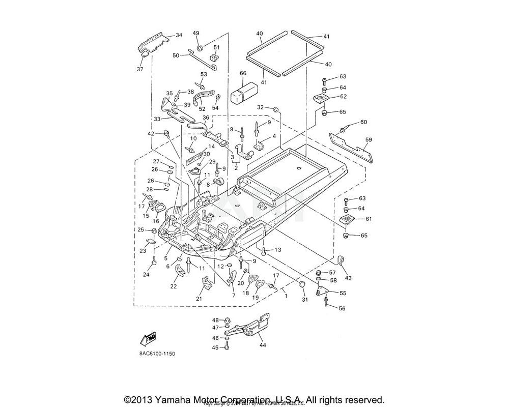 Yamaha OEM 8AC-77272-00-00 DAMPER, NOISE 12