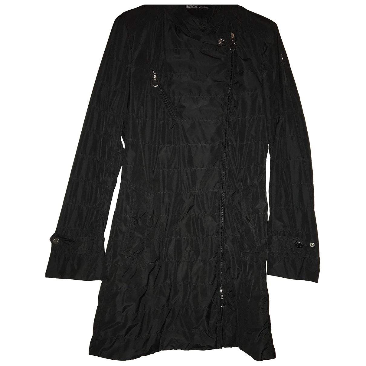 Moncler \N Trench in  Schwarz Polyester