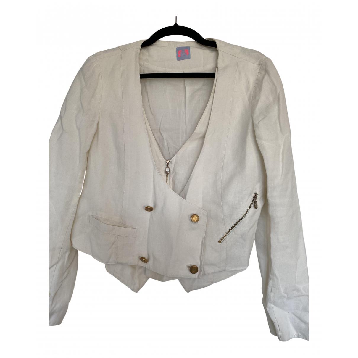 Sass & Bide - Veste   pour femme en lin - blanc