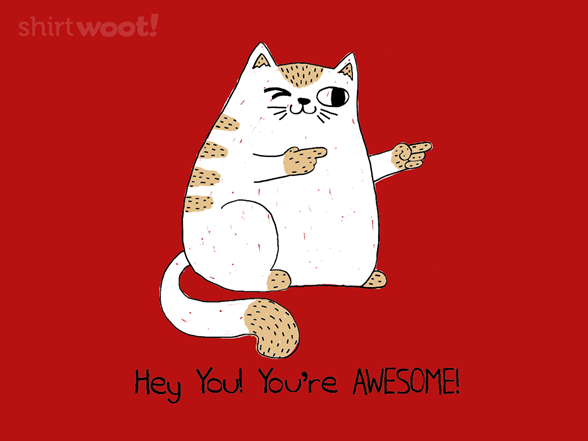 Hey You, You're Awesome! T Shirt