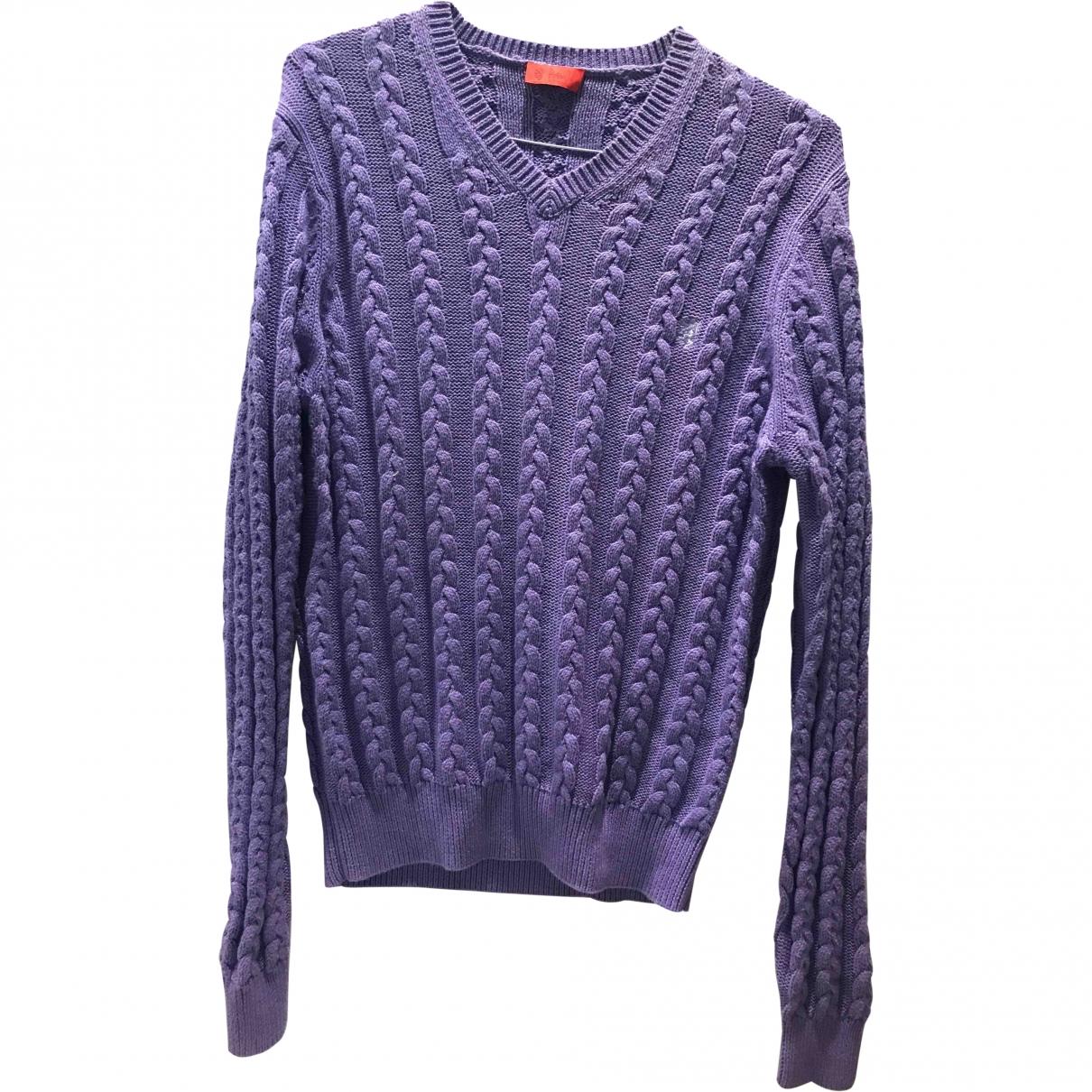 Pringle Of Scotland - Pulls.Gilets.Sweats   pour homme en coton - violet