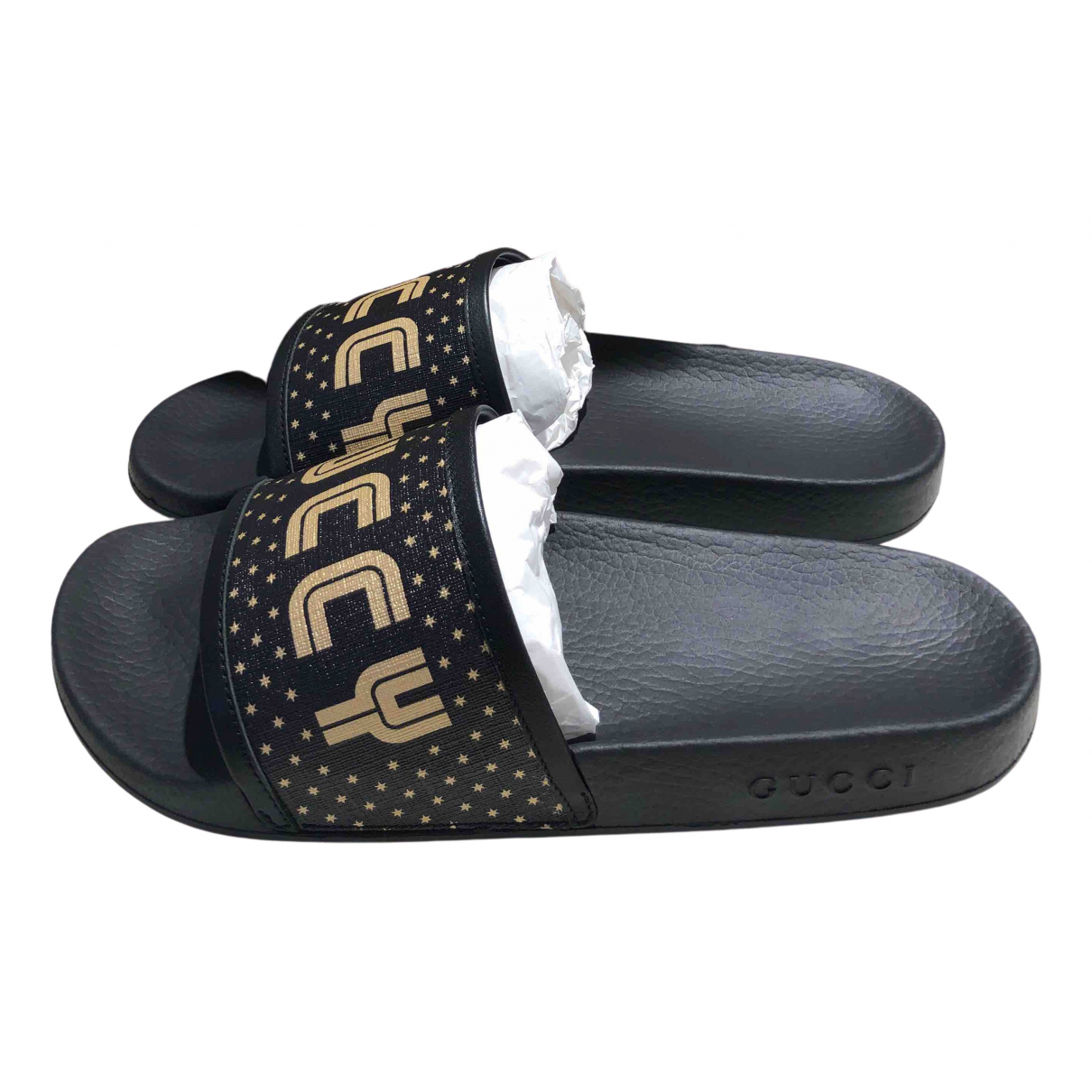 Gucci \N Sandalen in  Schwarz Kunststoff