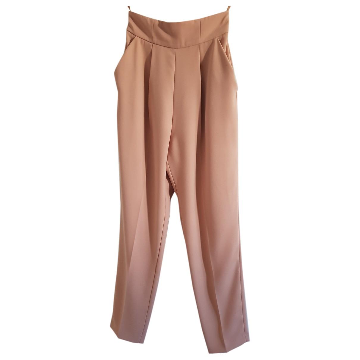 Elisabetta Franchi N Pink Trousers for Women 42 IT