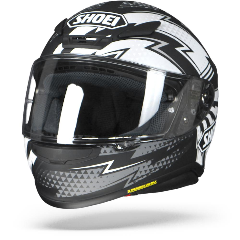 Shoei NXR Variable TC-5 Schwarz Grau Weiss Integralhelm M