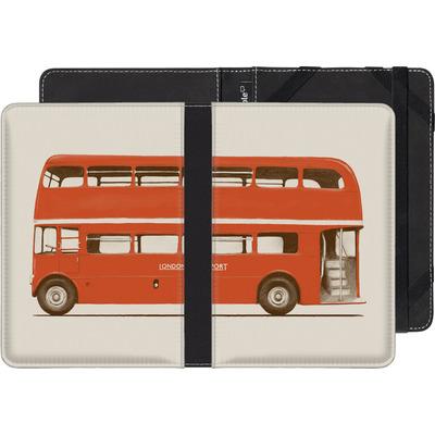TrekStor eReader Pyrus eBook Reader Huelle - Red London Bus von Florent Bodart