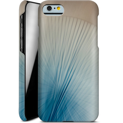 Apple iPhone 6 Smartphone Huelle - Blue Lines 2 von Joy StClaire