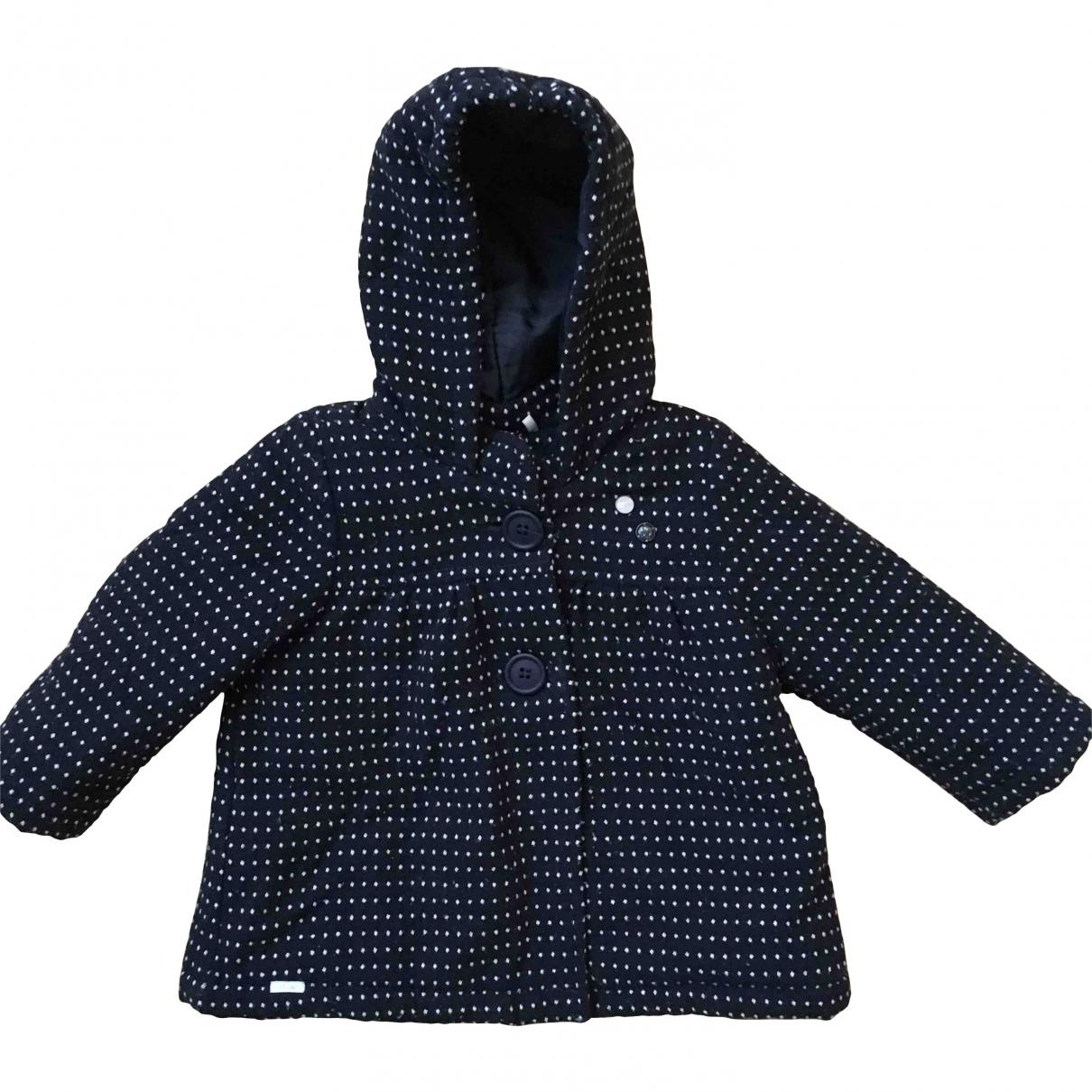 Ikks \N Navy Wool jacket & coat for Kids 18 months - up to 81cm FR