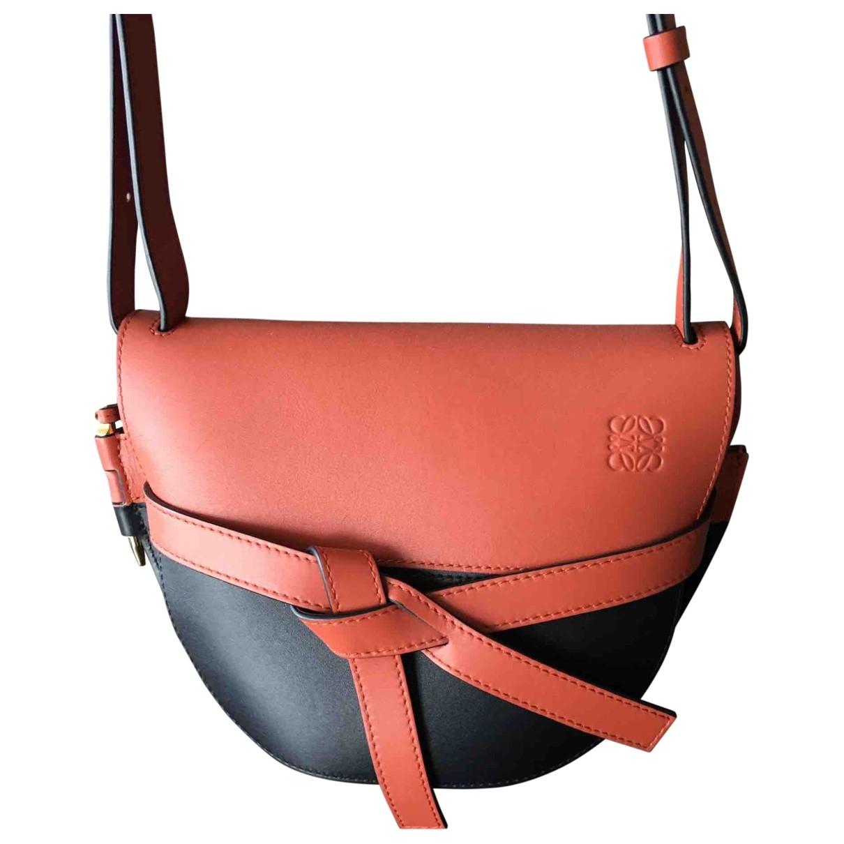Loewe Gate Black Leather handbag for Women \N