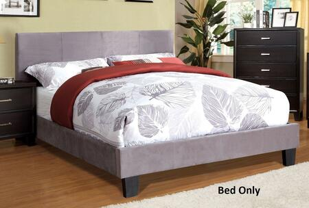 Winn Park Collection CM7008GF-F-BED Full Size Bed with Upholstered  English Style Headboard and European Style Slat Kit in