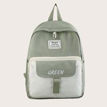 Kinder zweireihiger Rucksack