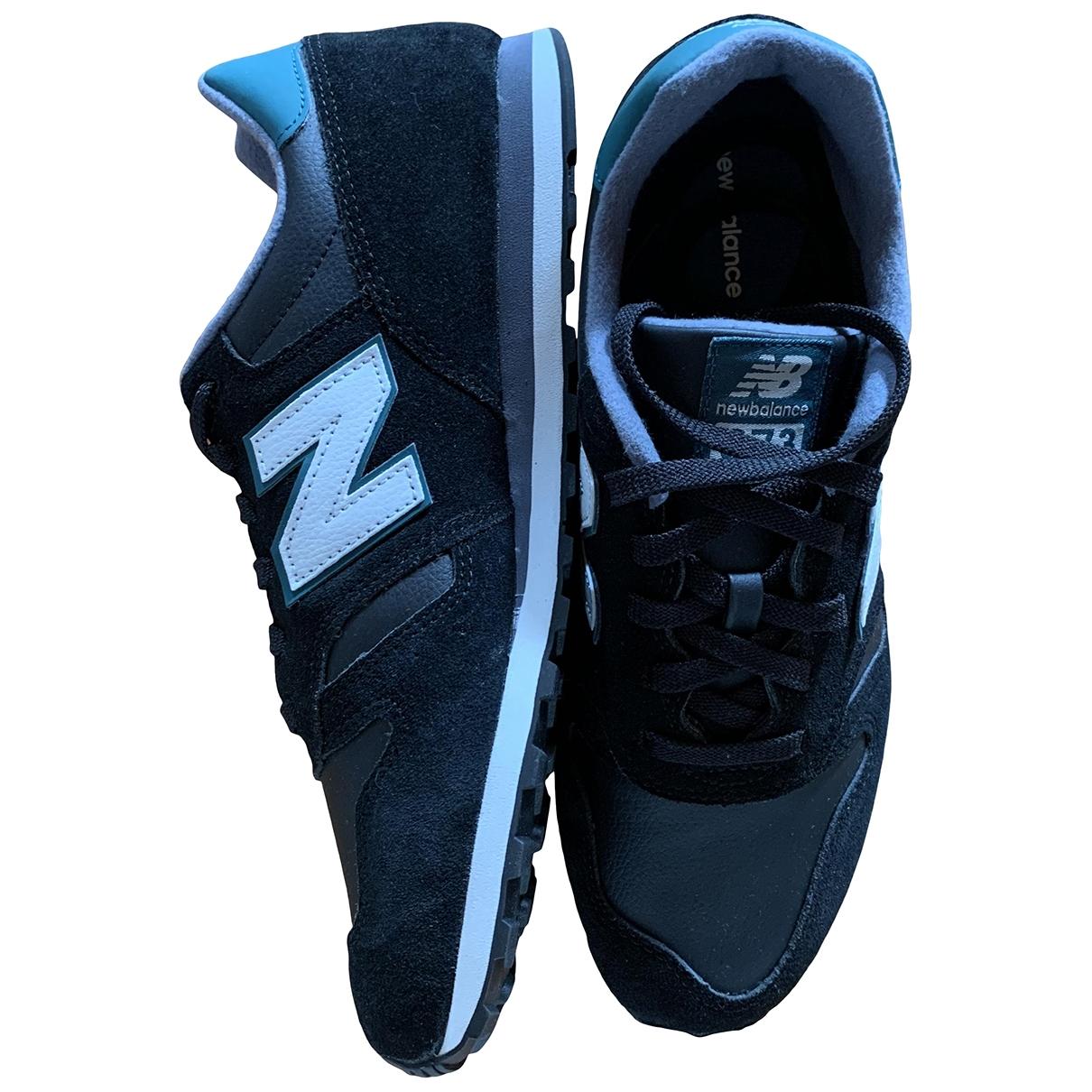 New Balance \N Sneakers in  Schwarz Leder